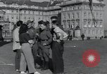 Image of Russian soldiers Prague Czechoslovakia, 1945, second 33 stock footage video 65675046380