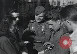 Image of Russian soldiers Prague Czechoslovakia, 1945, second 38 stock footage video 65675046380