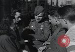 Image of Russian soldiers Prague Czechoslovakia, 1945, second 42 stock footage video 65675046380