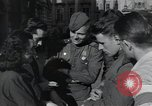 Image of Russian soldiers Prague Czechoslovakia, 1945, second 43 stock footage video 65675046380