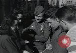 Image of Russian soldiers Prague Czechoslovakia, 1945, second 44 stock footage video 65675046380