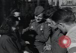 Image of Russian soldiers Prague Czechoslovakia, 1945, second 45 stock footage video 65675046380