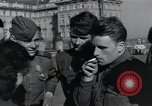 Image of Russian soldiers Prague Czechoslovakia, 1945, second 49 stock footage video 65675046380