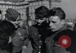 Image of Russian soldiers Prague Czechoslovakia, 1945, second 50 stock footage video 65675046380