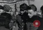 Image of Russian soldiers Prague Czechoslovakia, 1945, second 54 stock footage video 65675046380