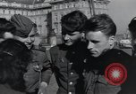 Image of Russian soldiers Prague Czechoslovakia, 1945, second 56 stock footage video 65675046380