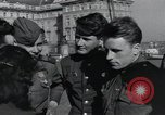 Image of Russian soldiers Prague Czechoslovakia, 1945, second 57 stock footage video 65675046380