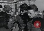 Image of Russian soldiers Prague Czechoslovakia, 1945, second 58 stock footage video 65675046380
