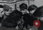 Image of Russian soldiers Prague Czechoslovakia, 1945, second 61 stock footage video 65675046380