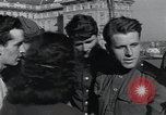 Image of Russian soldiers Prague Czechoslovakia, 1945, second 62 stock footage video 65675046380