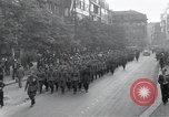 Image of Czech soldiers march Prague Czechoslovakia, 1945, second 3 stock footage video 65675046381