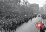 Image of Czech soldiers march Prague Czechoslovakia, 1945, second 8 stock footage video 65675046381