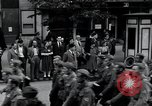Image of Czech soldiers march Prague Czechoslovakia, 1945, second 13 stock footage video 65675046381