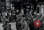 Image of Czech soldiers march Prague Czechoslovakia, 1945, second 14 stock footage video 65675046381