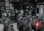 Image of Czech soldiers march Prague Czechoslovakia, 1945, second 17 stock footage video 65675046381