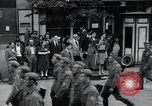 Image of Czech soldiers march Prague Czechoslovakia, 1945, second 19 stock footage video 65675046381