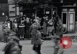 Image of Czech soldiers march Prague Czechoslovakia, 1945, second 20 stock footage video 65675046381