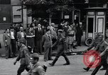 Image of Czech soldiers march Prague Czechoslovakia, 1945, second 21 stock footage video 65675046381