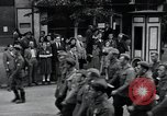 Image of Czech soldiers march Prague Czechoslovakia, 1945, second 23 stock footage video 65675046381