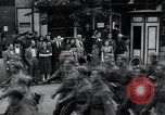 Image of Czech soldiers march Prague Czechoslovakia, 1945, second 24 stock footage video 65675046381