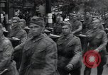 Image of Czech soldiers march Prague Czechoslovakia, 1945, second 25 stock footage video 65675046381