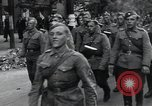 Image of Czech soldiers march Prague Czechoslovakia, 1945, second 27 stock footage video 65675046381