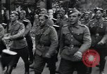 Image of Czech soldiers march Prague Czechoslovakia, 1945, second 28 stock footage video 65675046381