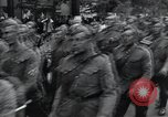 Image of Czech soldiers march Prague Czechoslovakia, 1945, second 34 stock footage video 65675046381