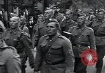 Image of Czech soldiers march Prague Czechoslovakia, 1945, second 35 stock footage video 65675046381