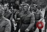 Image of Czech soldiers march Prague Czechoslovakia, 1945, second 37 stock footage video 65675046381