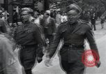 Image of Czech soldiers march Prague Czechoslovakia, 1945, second 39 stock footage video 65675046381