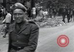 Image of Czech soldiers march Prague Czechoslovakia, 1945, second 40 stock footage video 65675046381