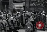 Image of Czech soldiers march Prague Czechoslovakia, 1945, second 48 stock footage video 65675046381