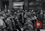 Image of Czech soldiers march Prague Czechoslovakia, 1945, second 50 stock footage video 65675046381