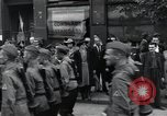 Image of Czech soldiers march Prague Czechoslovakia, 1945, second 51 stock footage video 65675046381