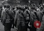 Image of Czech soldiers march Prague Czechoslovakia, 1945, second 57 stock footage video 65675046381