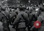 Image of Czech soldiers march Prague Czechoslovakia, 1945, second 58 stock footage video 65675046381