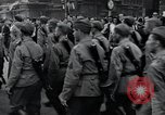 Image of Czech soldiers march Prague Czechoslovakia, 1945, second 60 stock footage video 65675046381
