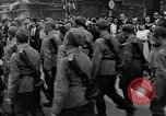 Image of Czech soldiers march Prague Czechoslovakia, 1945, second 62 stock footage video 65675046381