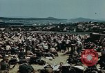 Image of German soldiers at end of World War 2 in Europe Czechoslovakia, 1945, second 6 stock footage video 65675046385