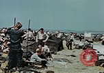 Image of German soldiers at end of World War 2 in Europe Czechoslovakia, 1945, second 25 stock footage video 65675046385
