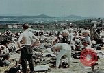 Image of German soldiers at end of World War 2 in Europe Czechoslovakia, 1945, second 49 stock footage video 65675046385
