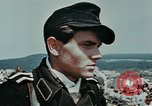 Image of German soldiers at end of World War 2 in Europe Czechoslovakia, 1945, second 56 stock footage video 65675046385