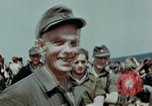 Image of German soldiers at end of World War 2 in Europe Czechoslovakia, 1945, second 58 stock footage video 65675046385