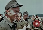 Image of German soldiers at end of World War 2 in Europe Czechoslovakia, 1945, second 59 stock footage video 65675046385