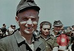 Image of German soldiers at end of World War 2 in Europe Czechoslovakia, 1945, second 60 stock footage video 65675046385