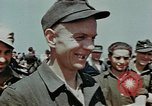Image of German soldiers at end of World War 2 in Europe Czechoslovakia, 1945, second 61 stock footage video 65675046385