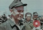 Image of German soldiers at end of World War 2 in Europe Czechoslovakia, 1945, second 62 stock footage video 65675046385