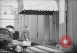 Image of Banker Alexander Sachs visits the White House Washington DC USA, 1946, second 22 stock footage video 65675046546