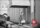 Image of Banker Alexander Sachs visits the White House Washington DC USA, 1946, second 23 stock footage video 65675046546